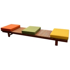 Charlotte Perriand Bench from the Arcs Ski Resort