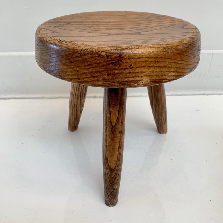 French Charlotte Perriand Berger Stool For Sale