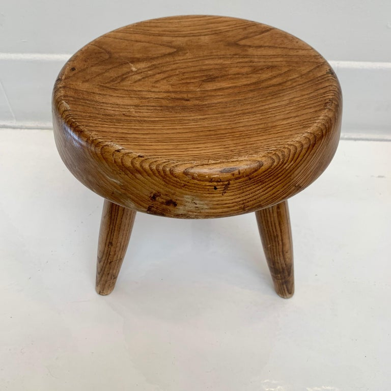 Mid-20th Century Charlotte Perriand Berger Stool For Sale