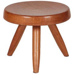 Charlotte Perriand, Berger Stool, Wood, France, circa 1953