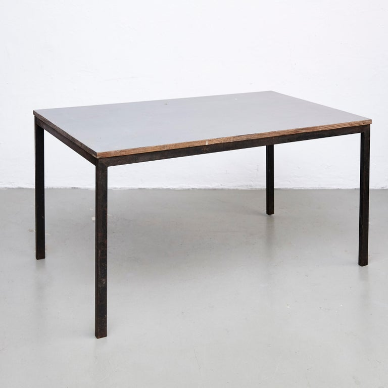 Mid-Century Modern Charlotte Perriand Cansado Table, circa 1950 For Sale