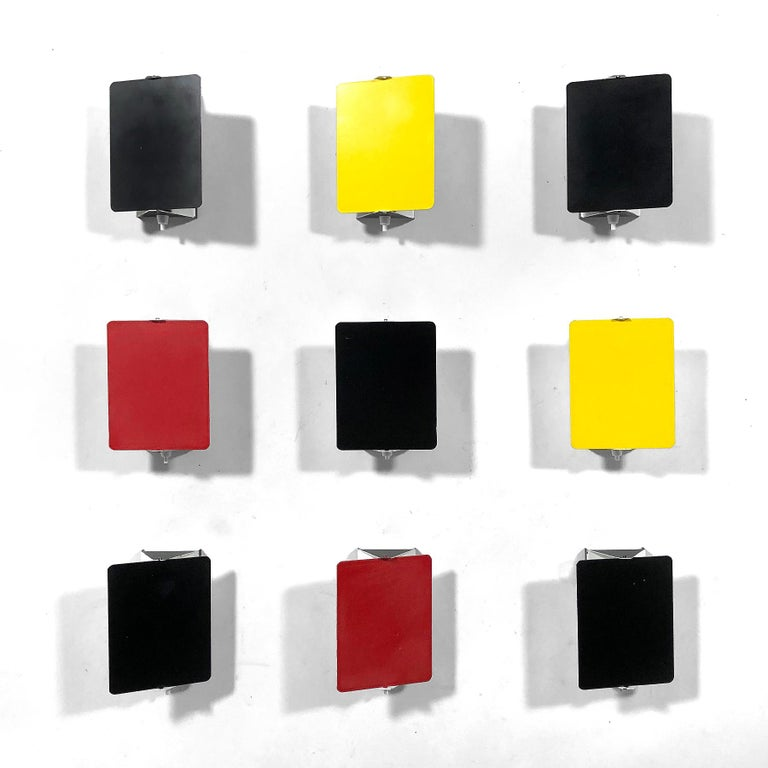 Painted Charlotte Perriand CP-1 Wall Lamps For Sale