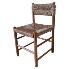"Charlotte Perriand Dining Chair Model ""Dordogne"" for Robert Sentou, 1960s"