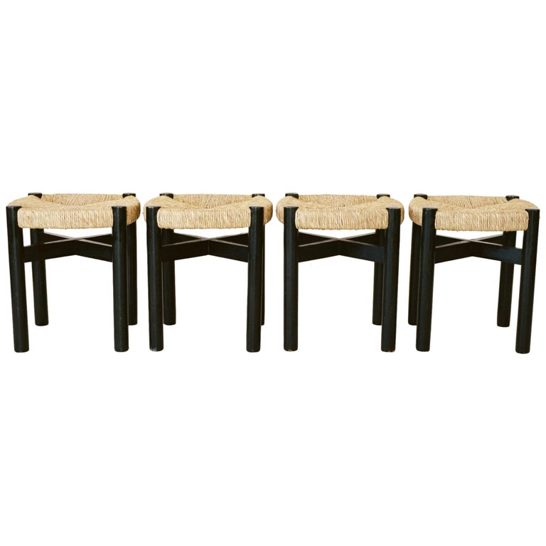 Charlotte Perriand, Four Stools, circa 1948