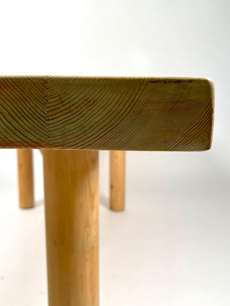 Charlotte Perriand, Large & Rare Pine Table from Méribel, France 1950. For Sale 7