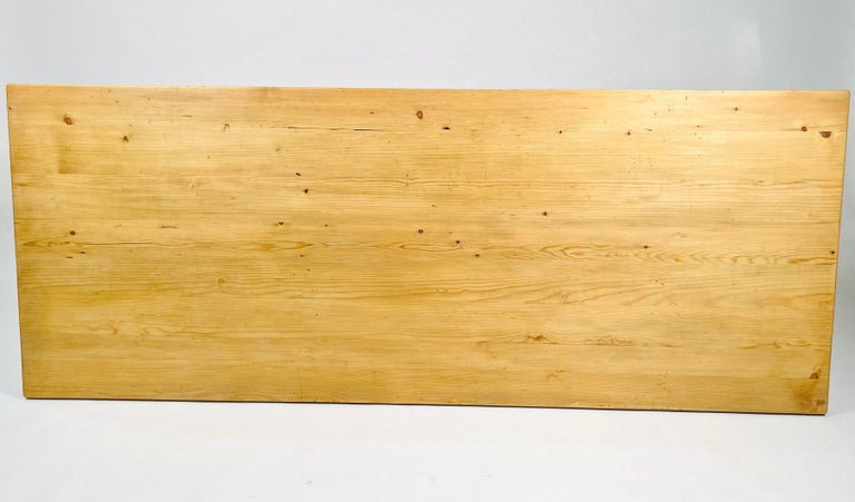 Charlotte Perriand, Large & Rare Pine Table from Méribel, France 1950. For Sale 9