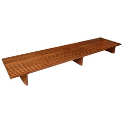 """Charlotte Perriand, Large """"Tokyo"""" Bench"""