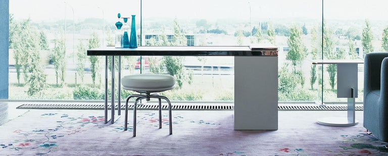 Italian Charlotte Perriand LC8 Stool by Cassina For Sale