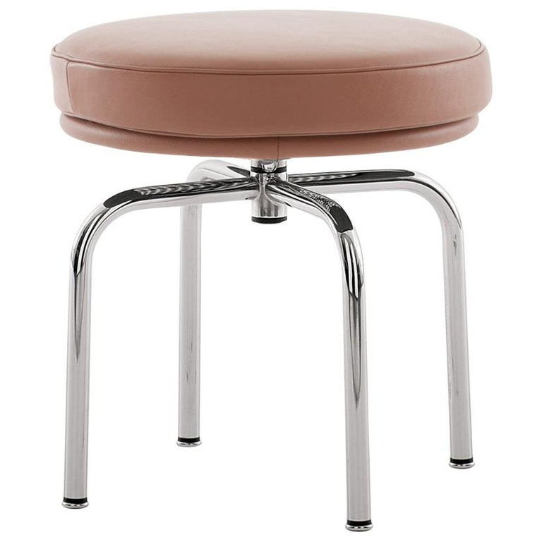 Charlotte Perriand LC8 Stool by Cassina For Sale