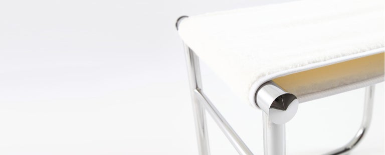 Mid-Century Modern Charlotte Perriand LC9 Stool by Cassina For Sale