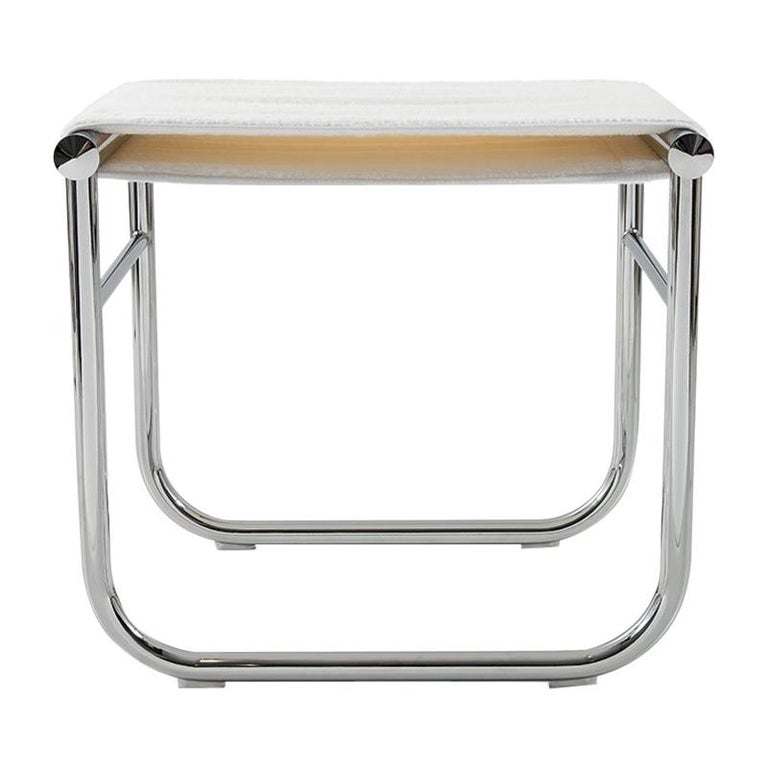 Charlotte Perriand LC9 Stool by Cassina For Sale