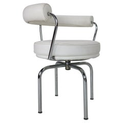 """Charlotte Perriand, Le Corbusier """"LC7"""" Swivel Chair for Cassina, 1927, Italy"""