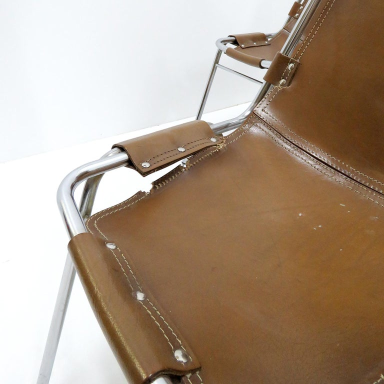 """""""Les Arc"""" Chairs Selected by Charlotte Perriand For Sale 5"""