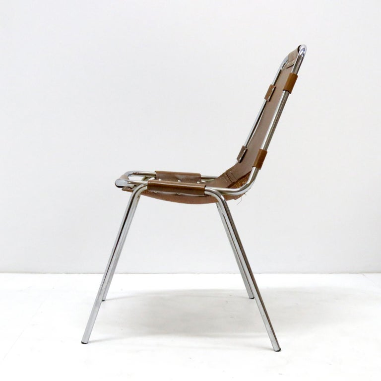 """""""Les Arc"""" Chairs Selected by Charlotte Perriand In Good Condition For Sale In Los Angeles, CA"""