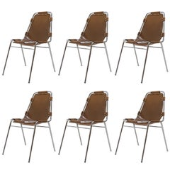 "Charlotte Perriand ""Les Arc"" Chairs"