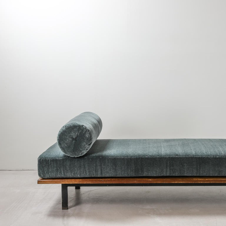 French Charlotte Perriand, Low bench, from Cité Cansado, Cansado, Mauritania For Sale