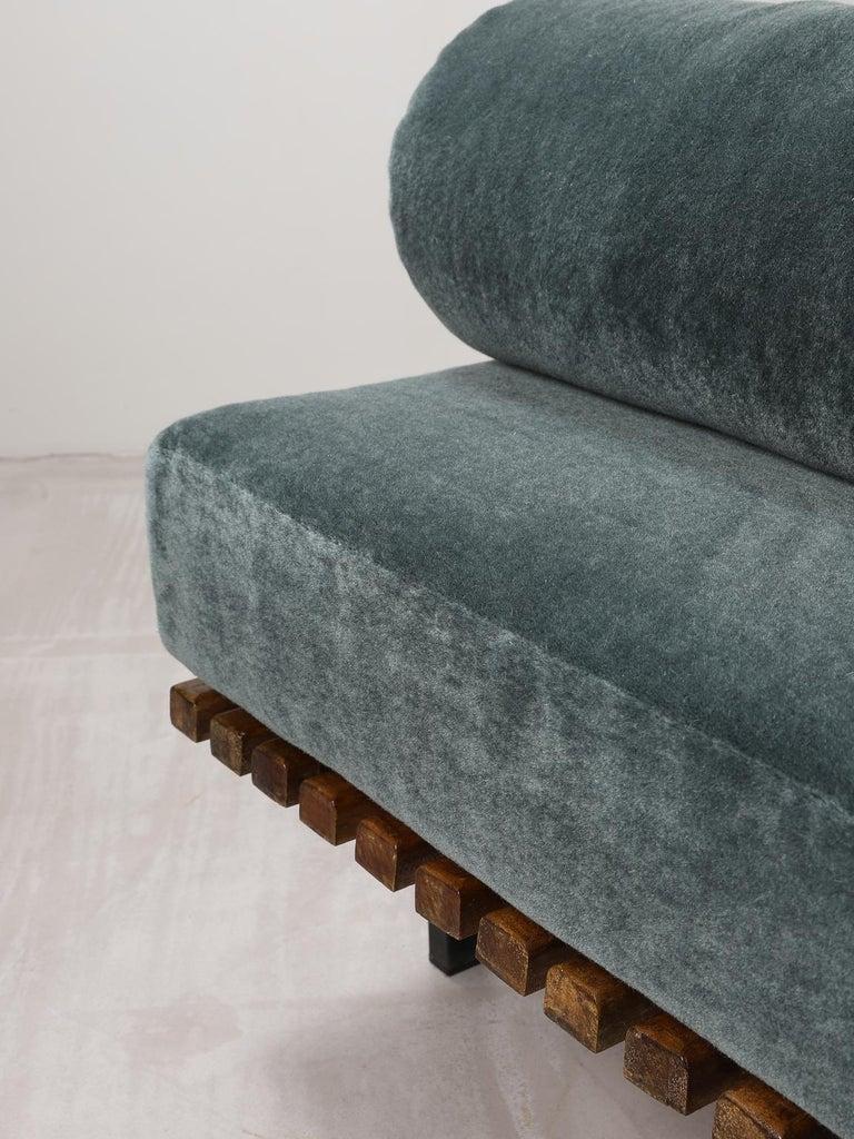 Charlotte Perriand, Low bench, from Cité Cansado, Cansado, Mauritania For Sale 1