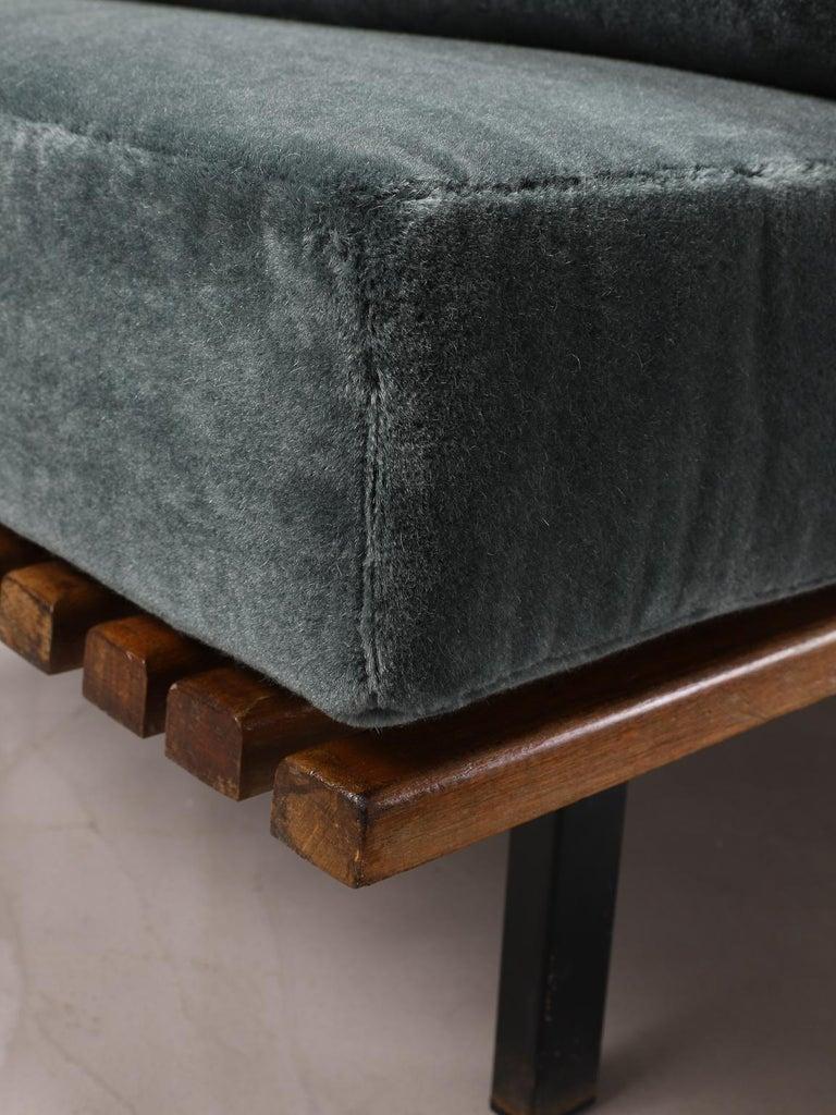 Charlotte Perriand, Low bench, from Cité Cansado, Cansado, Mauritania For Sale 2