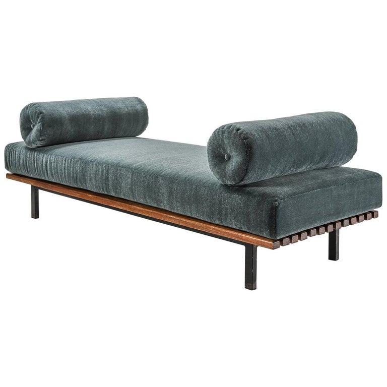 Charlotte Perriand, Low bench, from Cité Cansado, Cansado, Mauritania For Sale