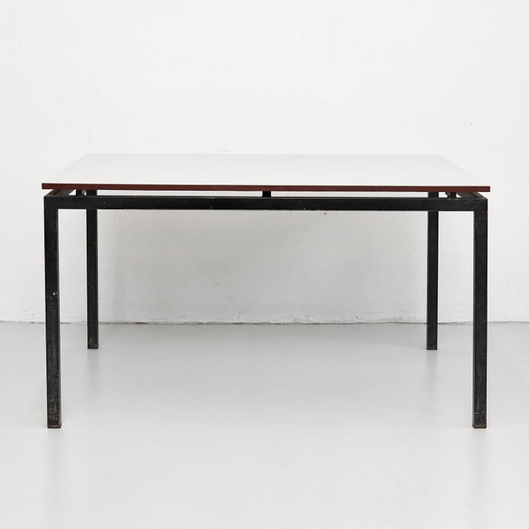 Table designed by Charlotte Perriand, circa 1950.