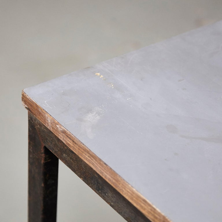Charlotte Perriand, Mid-Century Modern, Wood Metal Cansado Table, circa 1950 For Sale 6