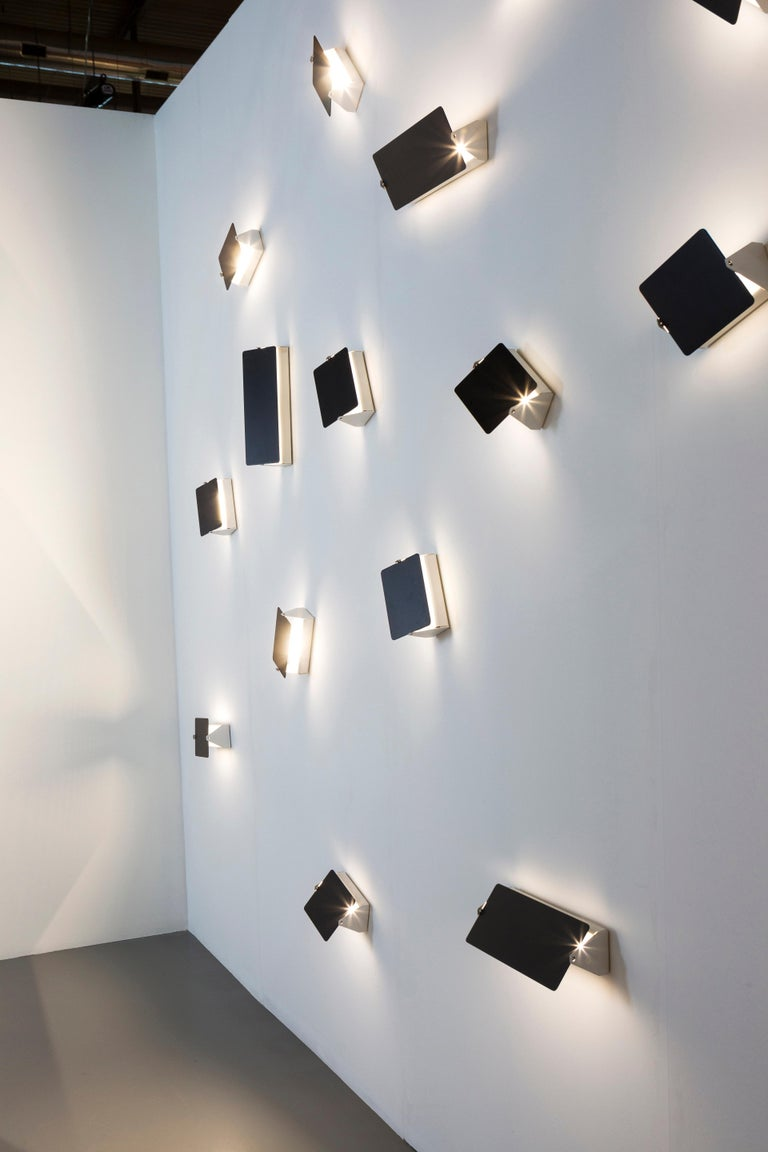 Charlotte Perriand Mirrored 'Applique à Volet Pivotant' Wall Lights For Sale 6