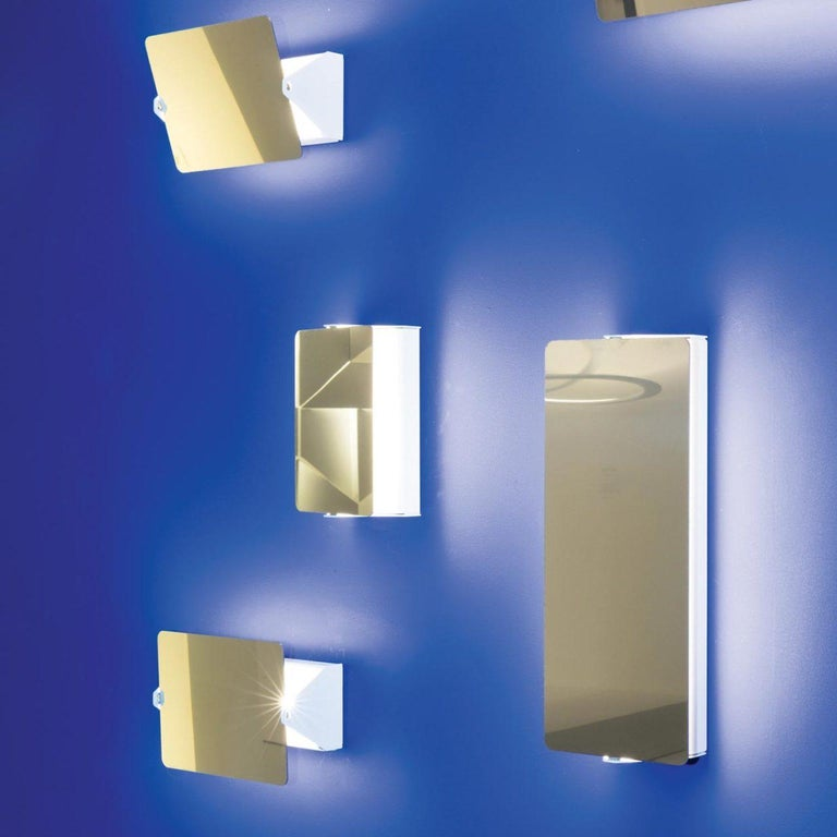 Contemporary Charlotte Perriand Mirrored 'Applique à Volet Pivotant' Wall Lights For Sale