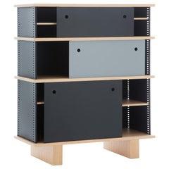 Charlotte Perriand Nuage Shelving Unit, Wood and Aluminium