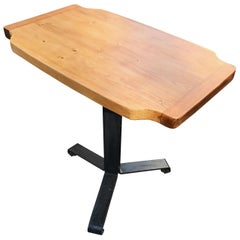 Charlotte Perriand Occasional Pine Table from the Arcs Ski Resort