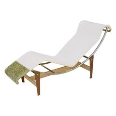 Charlotte Perriand, Pierre Jeanerret, Le Corbusier, Early LC4 Chaise, c. 1928
