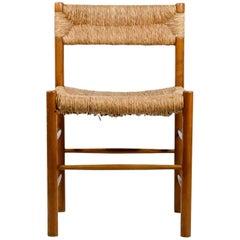 "Charlotte Perriand, Set of Six Chairs, Model ""Dordogne"", circa 1960, France"