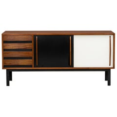 Charlotte Perriand Sideboard in Mahogany 'h'