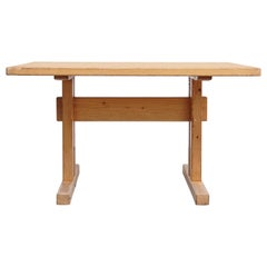 Charlotte Perriand, Mid Century Modern Small Wood Table for Les Arcs, circa 1960