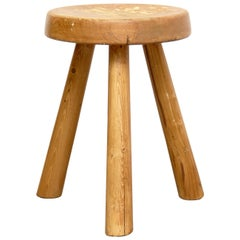 Charlotte Perriand Stool for Les Arcs, circa 1960