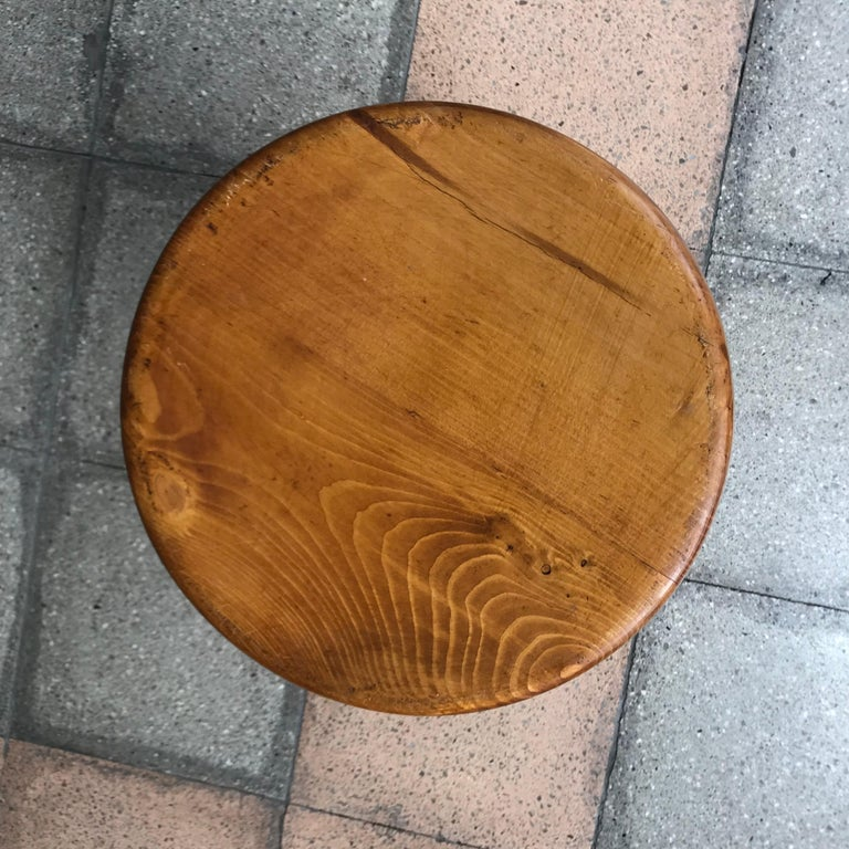 Charlotte Perriand Stool, Sandoz Model In Good Condition For Sale In Paris, FR