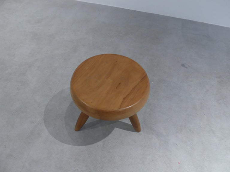Charlotte Perriand, 'Tabouret Berger' 'Berger Stool' In Good Condition For Sale In Paris, FR