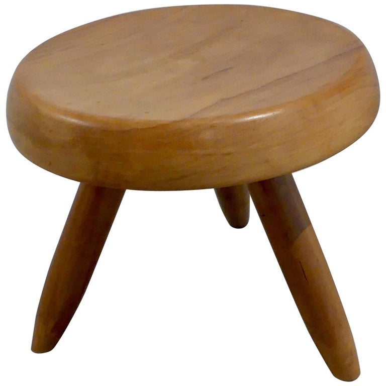 Charlotte Perriand, 'Tabouret Berger' 'Berger Stool' For Sale
