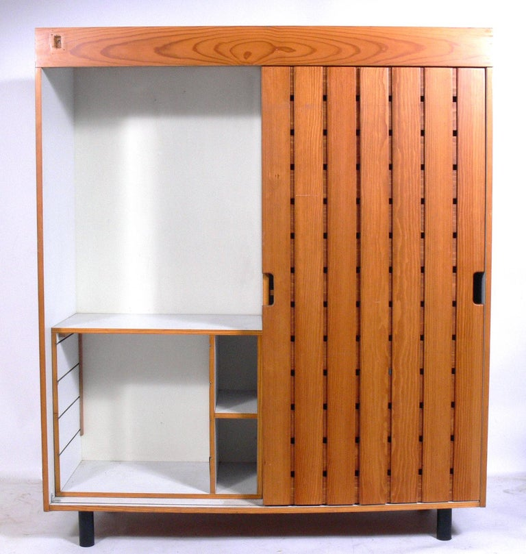 Mid-Century Modern Charlotte Perriand Wardrobe from Les Arc Ski Lodge For Sale