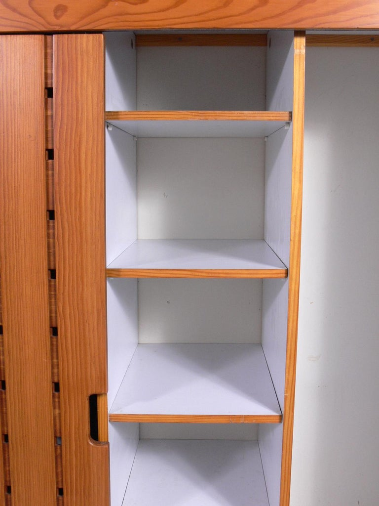 French Charlotte Perriand Wardrobe from Les Arc Ski Lodge For Sale