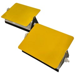 Charlotte Perriand Yellow CP1 Sconces