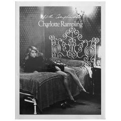 Charlotte Rampling with Compliments Text by Dirk Bogard First Edition, 1987
