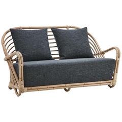 Charlottenborg Lounge Sofa, 2 Seats, by Arne Jacobsen, New Edition