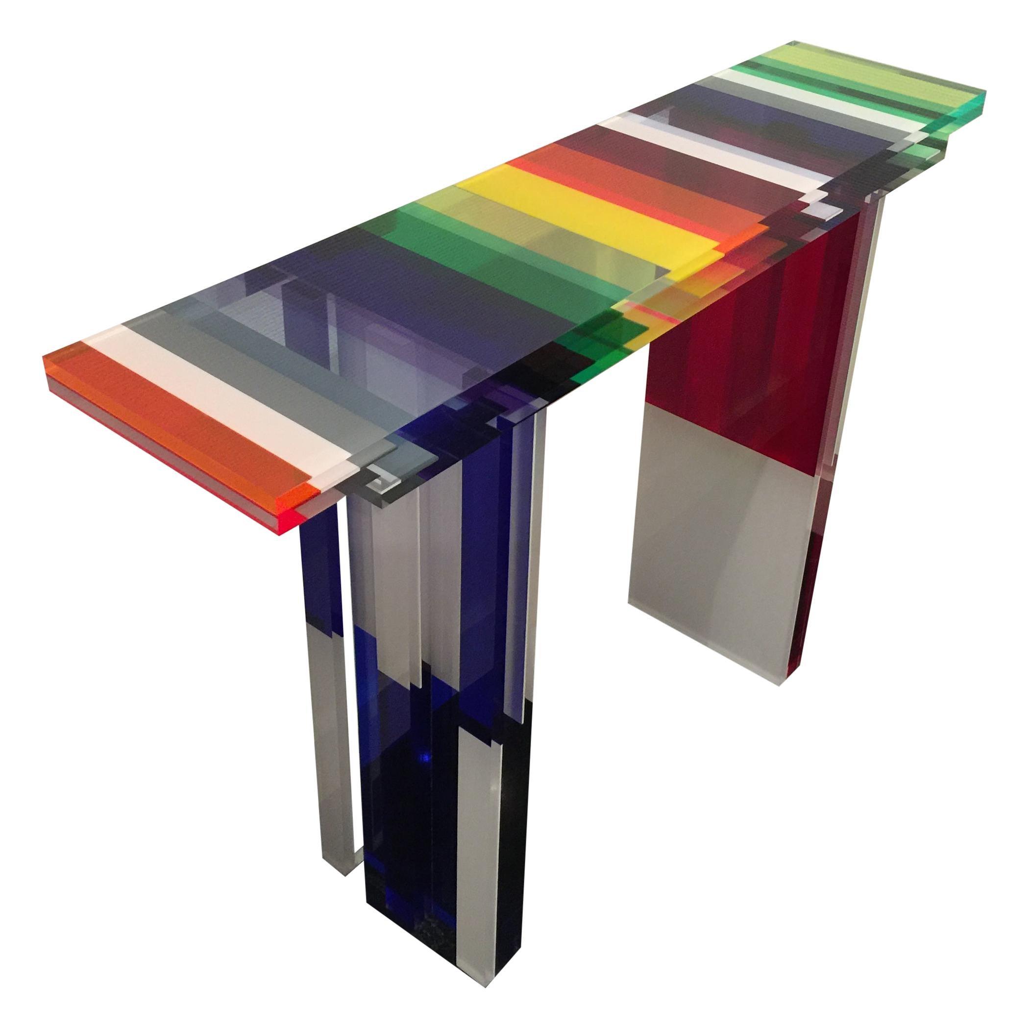 Charly Bounan, Unique Colorful Console