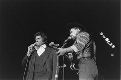 Waylon Jennings and Johnny Cash, 1978