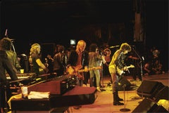 Willie Nelson, Tom Petty, and Bob Dylan, Farm Aid, 1985