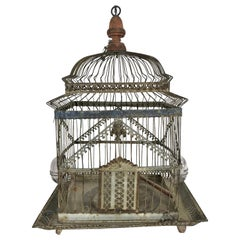 Charming 19th Century Architectural Birdcage