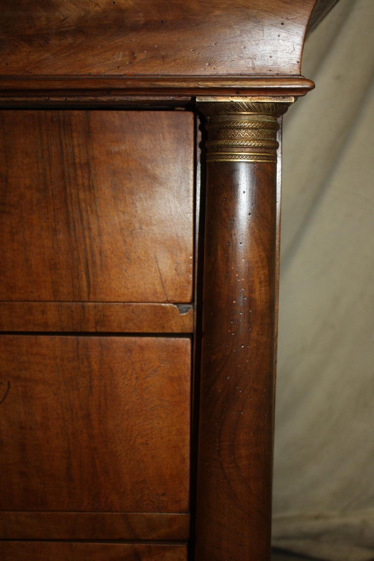 Charming 19th Century French Empire Chest 6