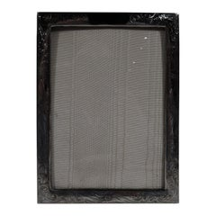 Charming American Art Nouveau Sterling Silver Picture Frame