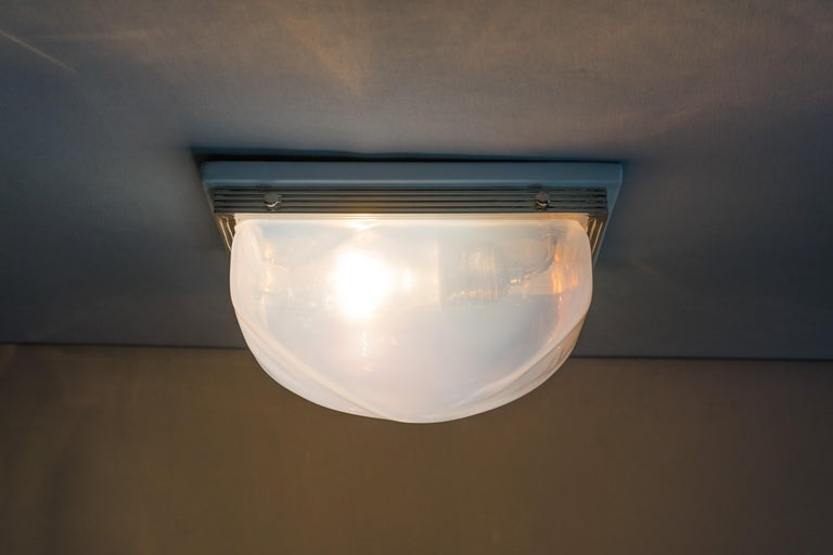 Charming Art Deco Wall or Ceiling Lamp Vienna, circa 1920s For Sale 6
