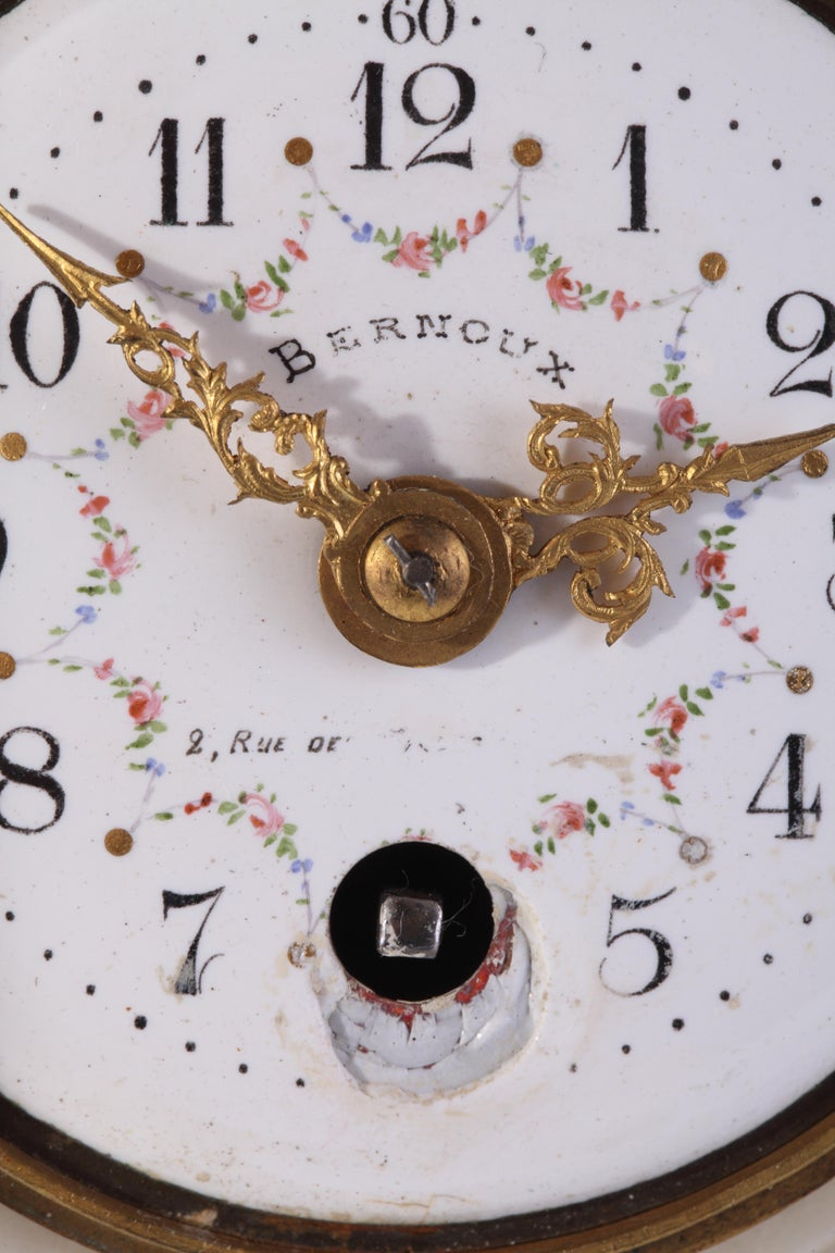 French Charming Cartel Clock For Sale